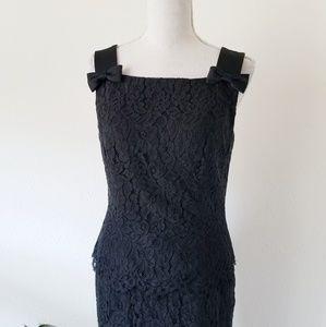 Vintage Talbots Lace Layered Sleeveless Dress 4